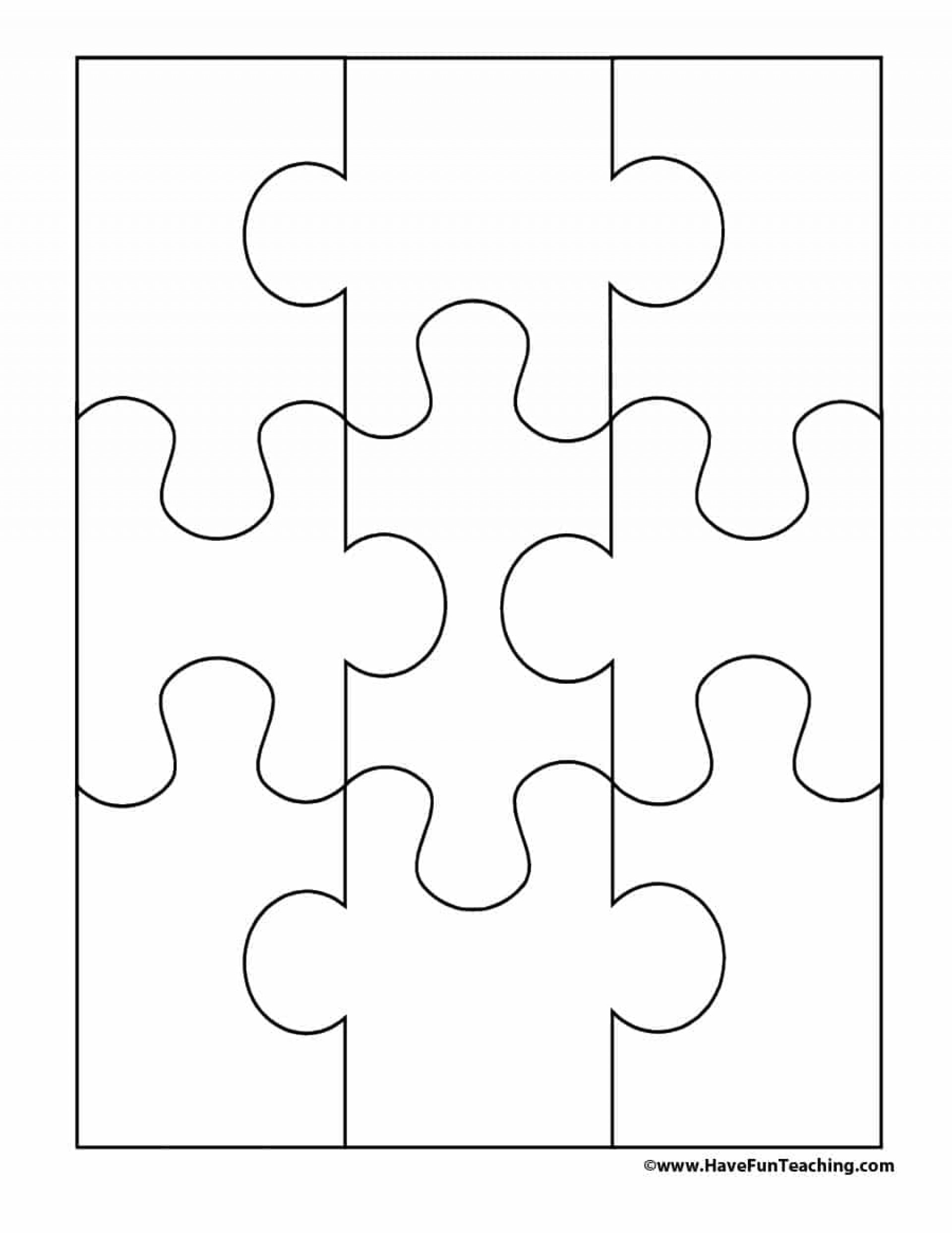 005 Puzzle Piece Template Ideas Jig Best Saw Free Blank Jigsaw - Printable Jigsaw Puzzle Pieces