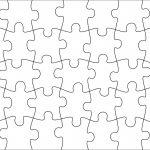 006 Jigsaw Puzzle Blank Template Twenty Pieces Simple Jig Saw   Printable Jigsaw Puzzle Maker