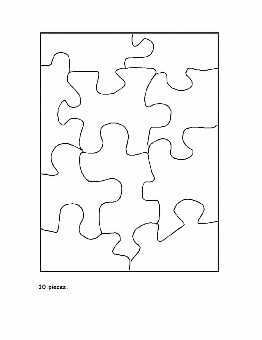 008 Blank Puzzle Pieces Template Piece Best Ideas 8 Jigsaw Printable - 8 Piece Puzzle Printable