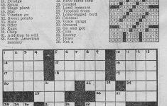 1/1/1946 Chicago Tribune Crossword Puzzle | Vintage Chicago   Printable Tribune Crossword