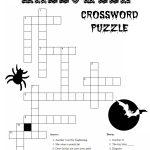 10 Best Photos Of Printable Halloween Word Puzzles   Halloween Word   Printable Crossword Puzzles Halloween