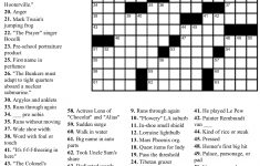 10 Best Photos Of Printable Tv Crossword Puzzle   Free Printable Tv   Printable Crossword Puzzles Tv Shows