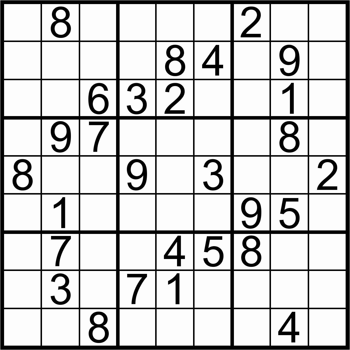 10@ Easy Sudoku Puzzles To Print   Logo Logo Site - Printable Sudoku Puzzle Easy