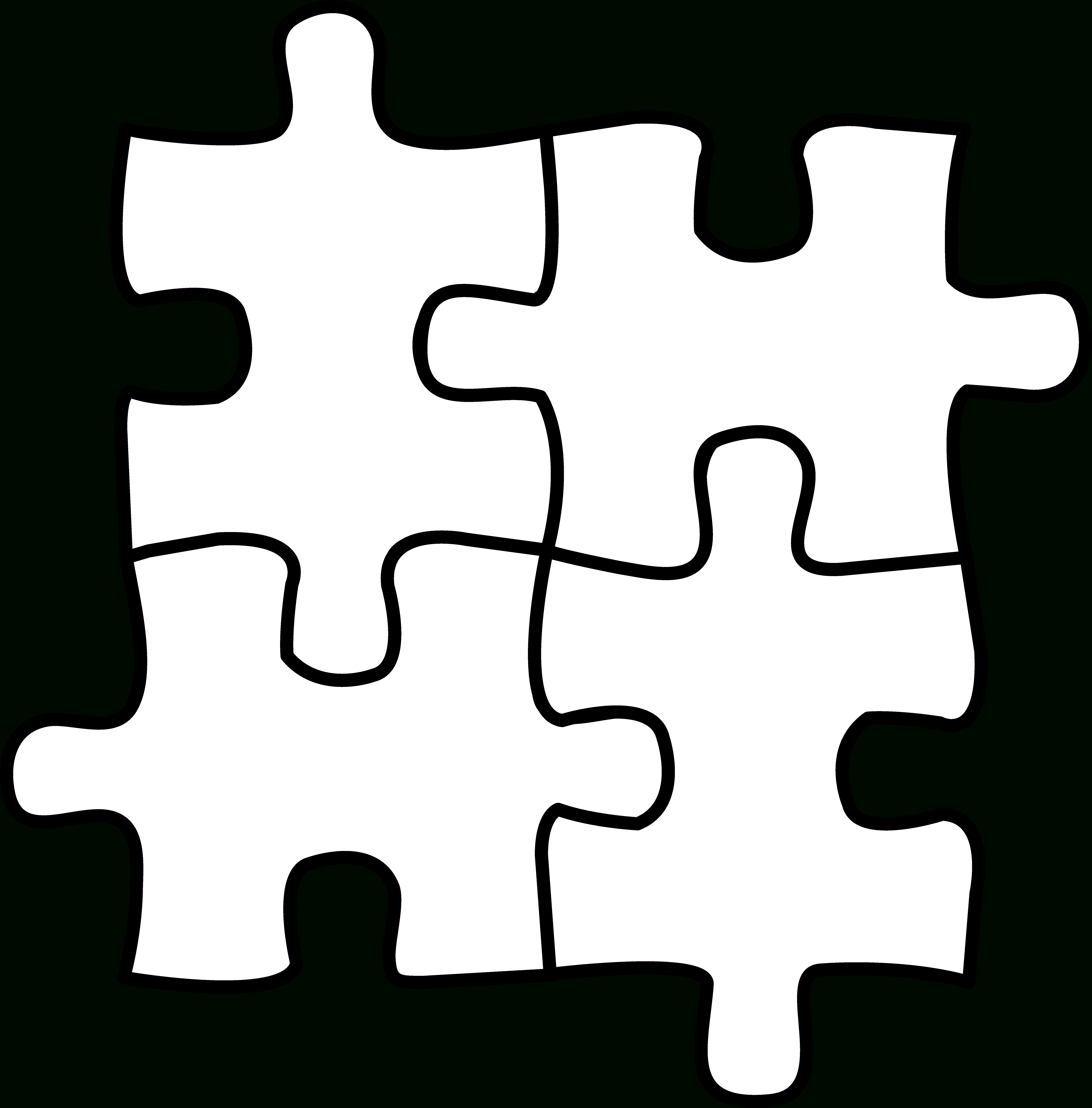 10 Pics Of Puzzle Piece Coloring Pages Of Letters - Autism Puzzle - Printable Autism Puzzle Piece