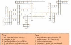 10 Superfun Thanksgiving Crossword Puzzles | Kittybabylove   Printable Crossword Puzzles For Thanksgiving