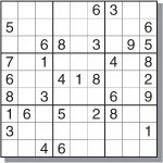 12 Best Photos Of Printable Sudoku Sheets   Printable Sudoku Puzzles   Printable Sudoku Puzzle Medium