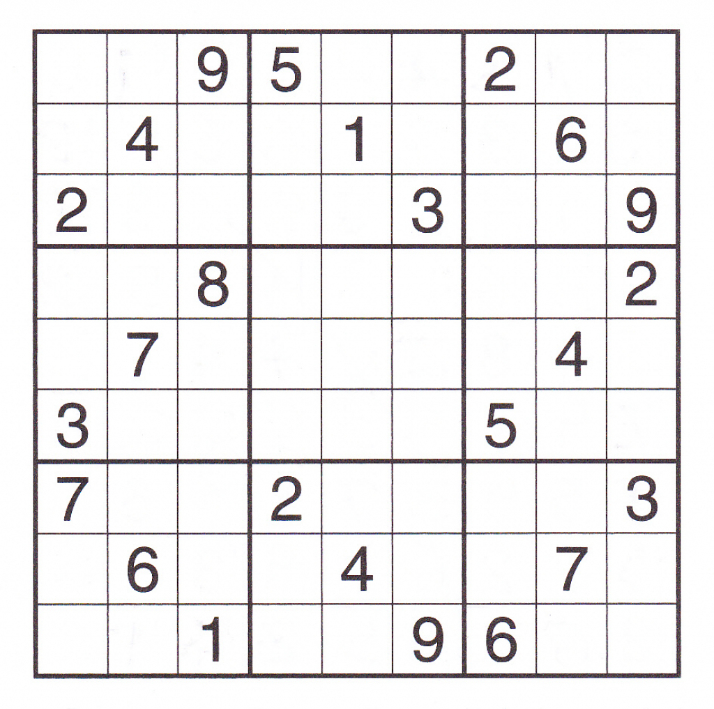 12 Best Photos Of Printable Sudoku Sheets - Printable Sudoku Puzzles - Printable Sudoku Puzzles 2 Per Page