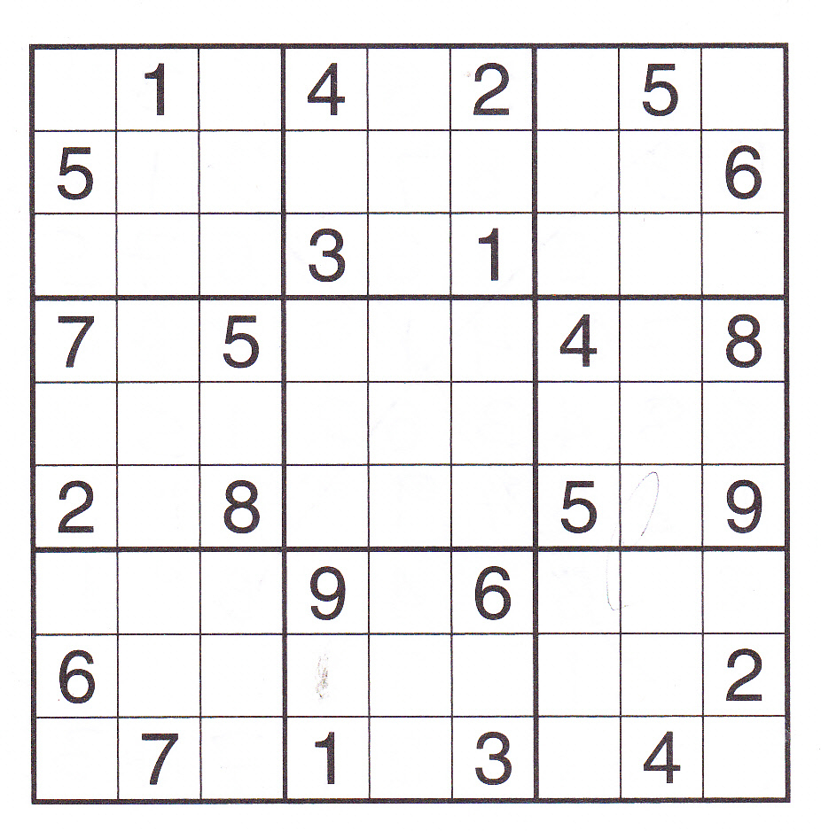 12 Best Photos Of Printable Sudoku Sheets - Printable Sudoku Puzzles - Printable Sudoku Puzzles 99