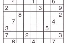 12 Best Photos Of Printable Sudoku Sheets   Printable Sudoku Puzzles   Printable Sudoku Puzzles Uk