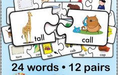 12 Minimal Pairs Of /t/ And /k/ Words Are Converted Into 24 Puzzle   K Print Puzzle