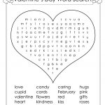 12 Valentine's Day Word Search | Kittybabylove   Valentine's Day Printable Puzzle