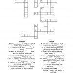 15 Best Photos Of Esl Printable Worksheets Crossword   Printable   Esl Crossword Puzzles Printable