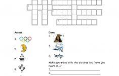 15 Best Photos Of Esl Printable Worksheets Crossword   Printable   Printable Crossword Puzzle For Esl Students