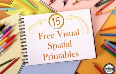 15 Free Visual Spatial Printables   Your Therapy Source   Free Printable Visual Puzzles