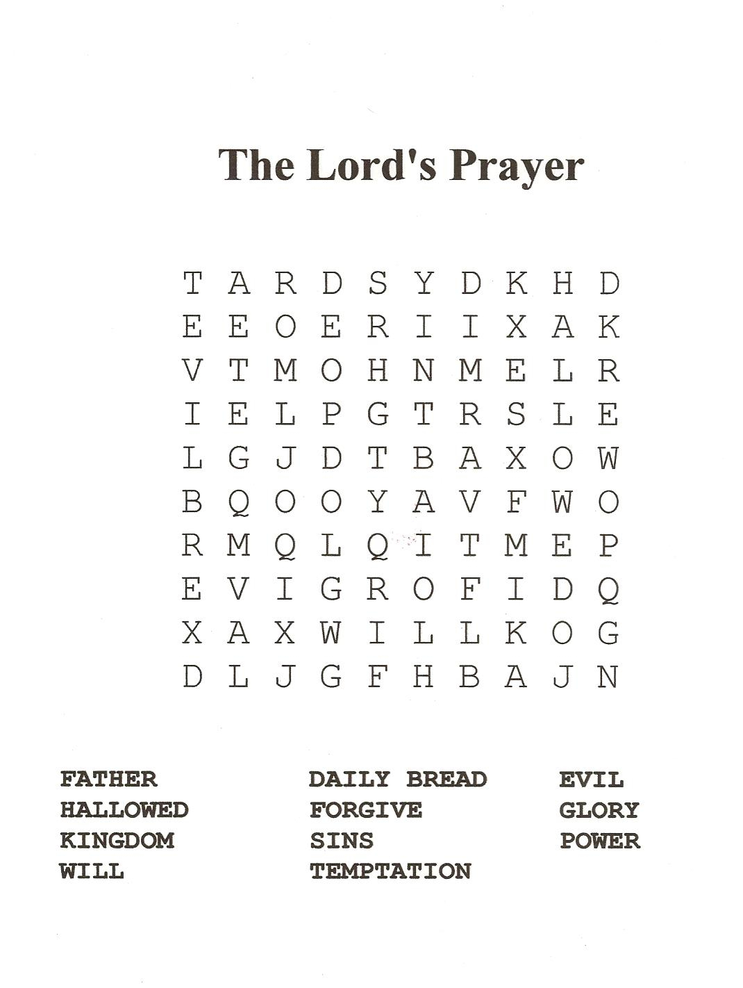 18 Fun Printable Bible Word Search Puzzles | Kittybabylove - Printable Biblical Puzzles