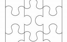 19 Printable Puzzle Piece Templates ᐅ Template Lab   Printable 4 Piece Puzzle Template
