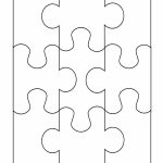 19 Printable Puzzle Piece Templates ᐅ Template Lab   Printable 9 Piece Puzzle