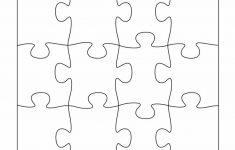 19 Printable Puzzle Piece Templates ᐅ Template Lab   Printable Interlocking Puzzle Pieces