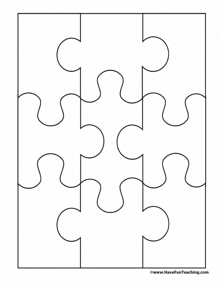 Printable Pictures Of Puzzle Pieces