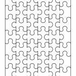 19 Printable Puzzle Piece Templates ᐅ Template Lab   Printable Puzzle Outline