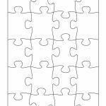 19 Printable Puzzle Piece Templates ᐅ Template Lab   Printable Puzzle Piece Template