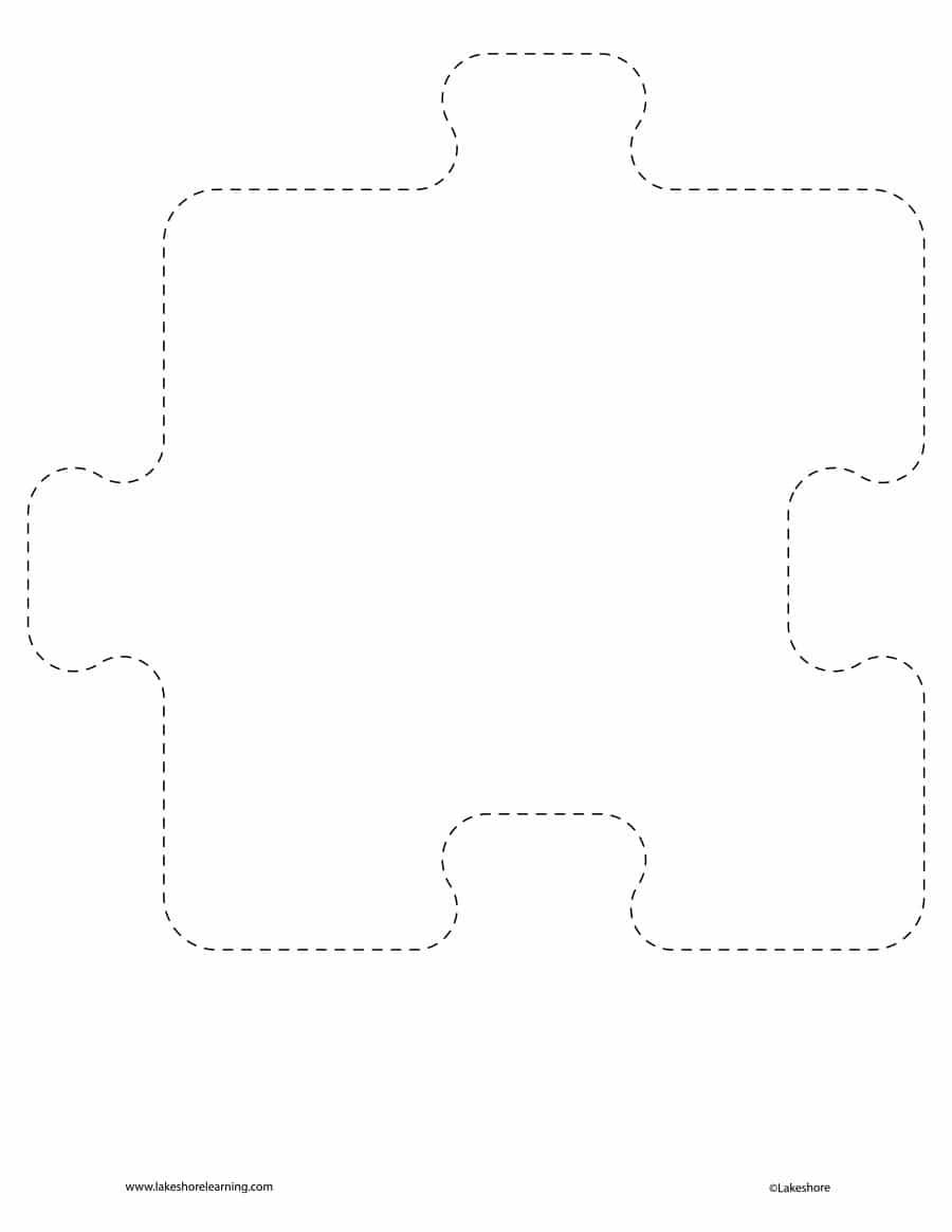19 Printable Puzzle Piece Templates ᐅ Template Lab - Printable T Puzzle