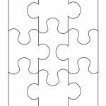 19 Printable Puzzle Piece Templates   Template Lab   Free Printable   Printable Puzzle Blank