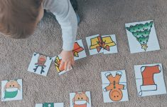 2 Piece Christmas Puzzles With Free Printable — Moments With Miss   Printable 2 Piece Puzzles