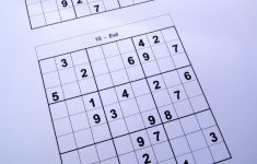 2 Puzzles Per Page – Free Sudoku Puzzles   Printable Sudoku Puzzles 2 Per Page