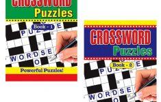 2 X Large Print Crossword Puzzle Books Book 325 Puzzles A4 Pages – Puzzle Print Uk