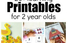 20+ Learning Activities And Printables For 2 Year Olds – Printable Puzzle For 3 Year Old
