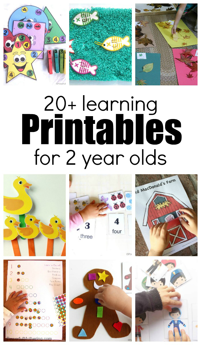 20+ Learning Activities And Printables For 2 Year Olds - Printable Puzzle For 3 Year Old