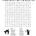 26 Spooky Halloween Word Searches | Kittybabylove   Free Printable   Printable October Puzzles