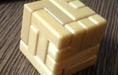3D Printable 4X4 Puzzle Cubenew Matter   3D Printable Puzzles Cube