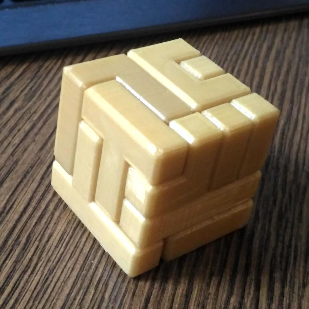 3D Printable 4X4 Puzzle Cubenew Matter - Printable Puzzles 4X4