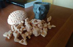 3D Printable Dr. Brain Breakerthomas Buseyne   3D Printable Puzzles