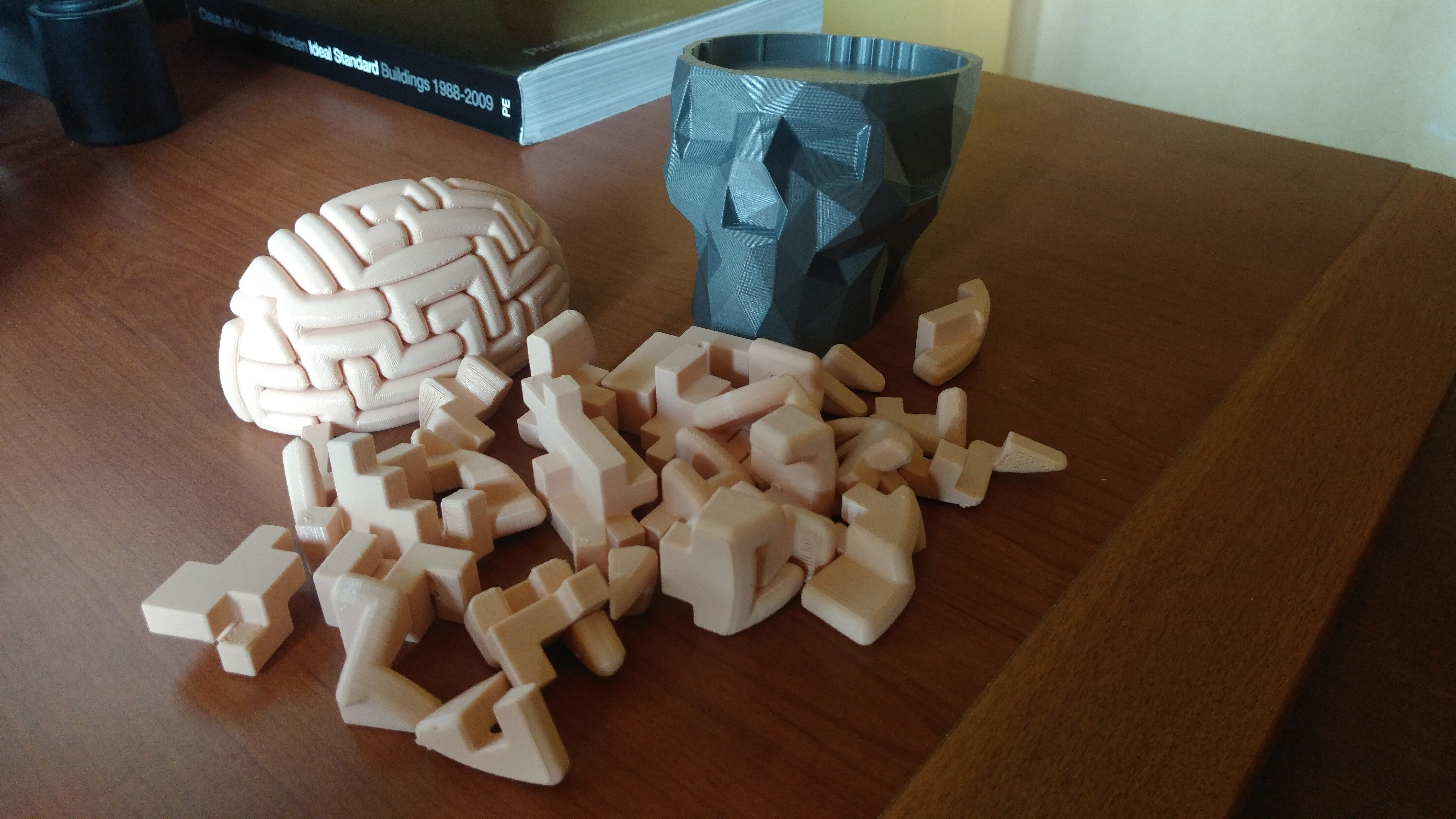 3D Printable Dr. Brain Breakerthomas Buseyne - 3D Printable Puzzles