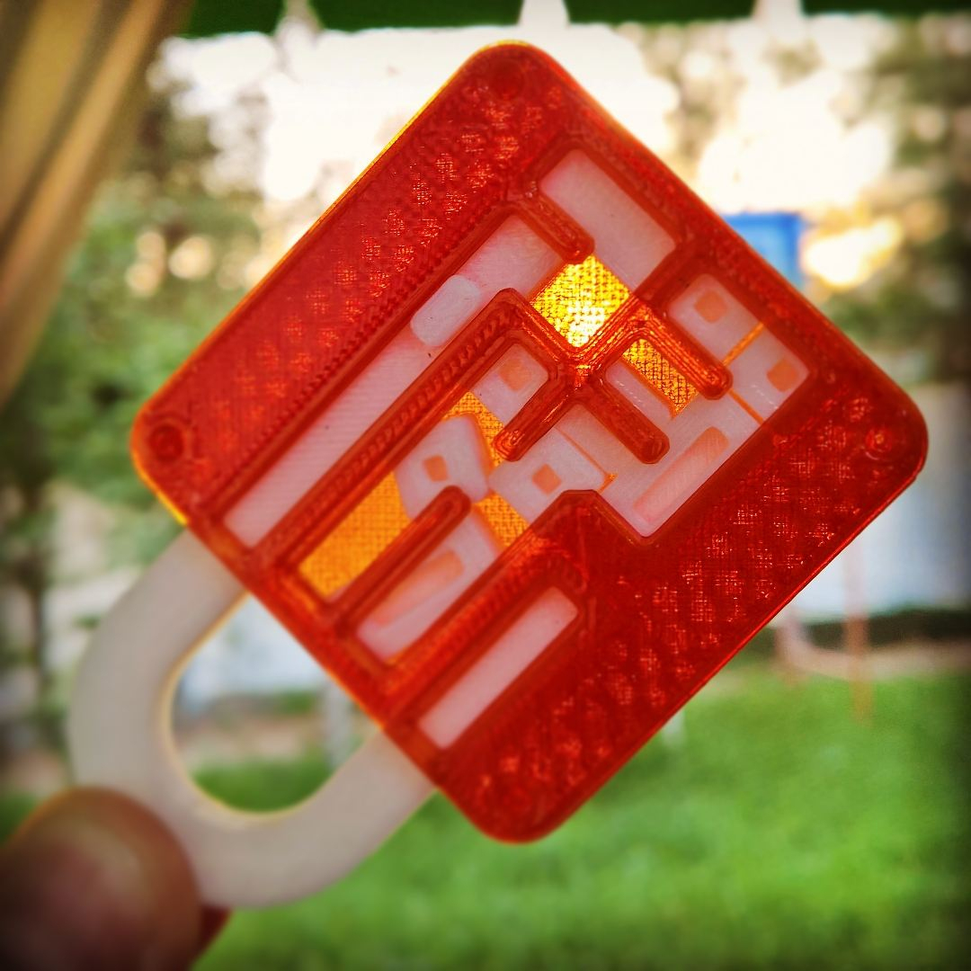 3D Printable Puzzle Lock // Sliding Puzzleanders Severinsen - 3D Print Puzzle Lock