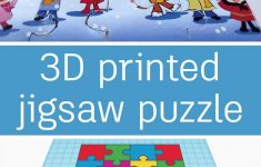 3D Printed Jigsaw Puzzle   Making With Tinkercad   Jigsaw Puzzles   Print Jigsaw Puzzle