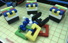3D Printed Printable Interlocking Puzzle #4   Level 11Richgain   3D Printable Puzzles