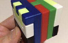 3D Printed Printable Interlocking Puzzle #4   Level 11Richgain   Printable 3D Puzzles