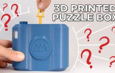3D Printed Puzzle Box And Lockpick Puzzles   Youtube   3D Print Puzzle Lock