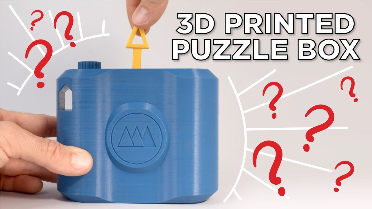 3D Printed Puzzle Box And Lockpick Puzzles - Youtube - 3D Printable Lock Puzzle