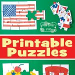 4Th Of July Printable Puzzles For Kids   Itsy Bitsy Fun   Printable July 4Th Puzzles