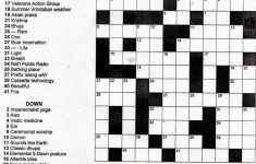 5 Printable Crossword Puzzles For Christmas   Printable Crossword Puzzle For Grade 5