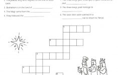 5Th Grade Catechist Resources   Church Of St. Peter's Mendota Church   Printable Epiphany Crossword Puzzle