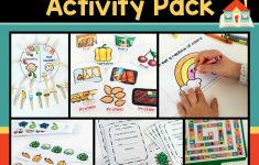6 Printable Food And Nutrition Activities For Preschoolers   Printable Nutrition Puzzles For Adults