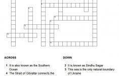 7 Best Photos Of Ocean Crossword Puzzle Printable Google   Ocean   Printable Ocean Crossword Puzzles