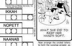 8 Best Jumble Puzzles Images On Pinterest | Crossword Puzzles, Free   Printable Jumble Puzzle