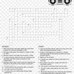 80's Crossword Puzzle   Crossword Puzzle Free Printable, Hd Png   Printable Automotive Crossword Puzzles